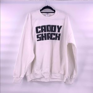 Vintage caddy shack sweatshirt size xl